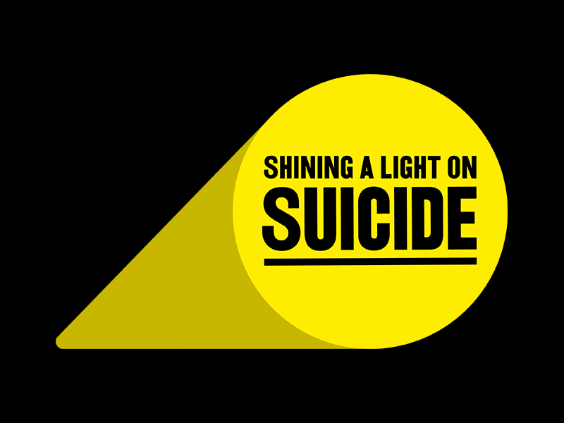 Shining a Light on Suicide Campaign